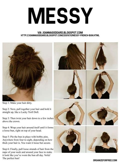 messy hair styles with frost ing done tutorials cool and easy hairstyles messy bun tutorials