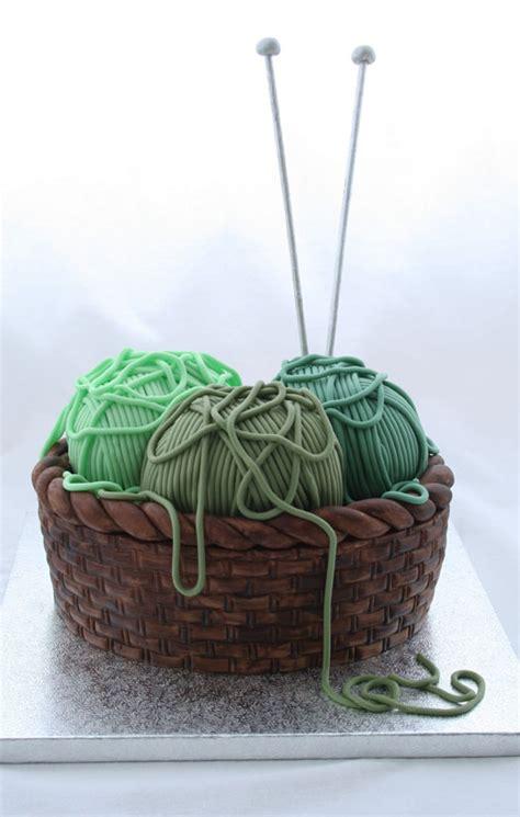 knitting cake how to make a knitting basket cake cakejournal