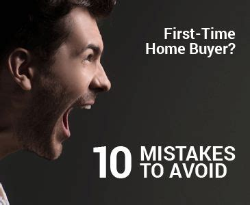 Time Home Buyer Common Questions The by 10 Time Home Buyer Mistakes To Avoid Http Www
