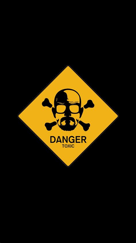 danger white walter white danger sign 1080x1920 best htc one wallpapers