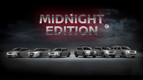 Get Look Edition by Nissan Midnight Edition Lineup Released Peruzzi Nissan