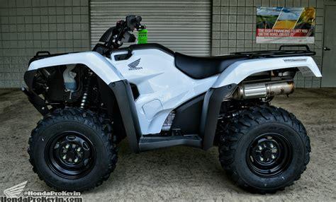 honda new four wheeler 2016 rancher 420 dct irs eps atv review specs price