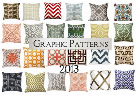 home decor patterns home decor trend predictions for 2013 home stories a to z