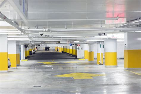 Underground Parking Garage Painting Contractor/Company