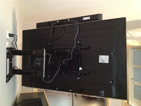 mount sound bar on top of tv 1000 images about sound bar installation ideas on