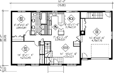 1000 Sq Ft Garage Plans by Ranch Style House Plan 2 Beds 1 Baths 1000 Sq Ft Plan