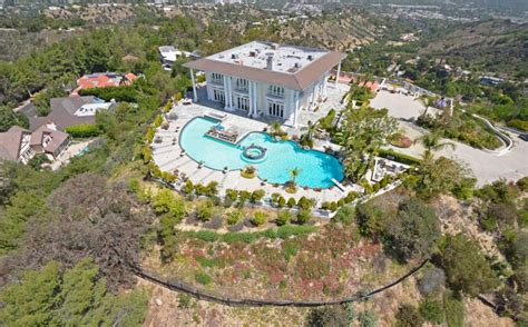 million newly listed contemporary mansion  los