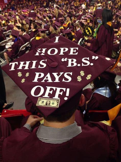 hilarious graduation cap ideas youve     words