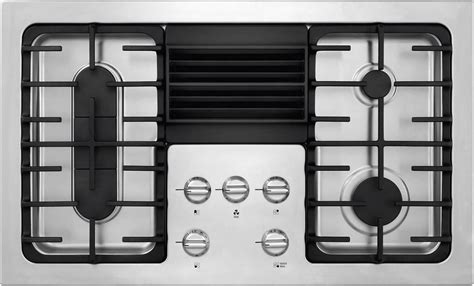 gas cooktops with built in downdraft nib frigidaire rc36dg60ps 36 quot built in downdraft gas