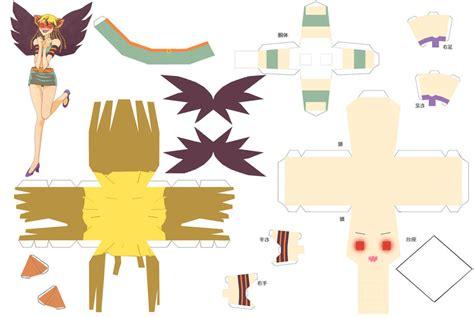 Mermaid Papercraft - mermaid melody papercraft eriru by sumatradjvero on deviantart