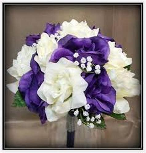 How To Make A Bouquet Of Flowers Out Of Paper - how to make a wedding bouquet out of silk flowers 4 steps