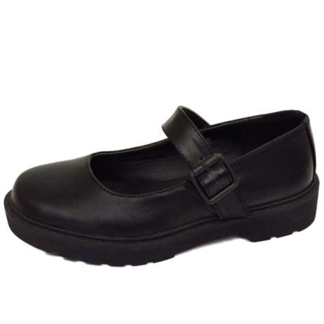 black t bar dolly shoes flat black buckle t bar pumps dolly smart work