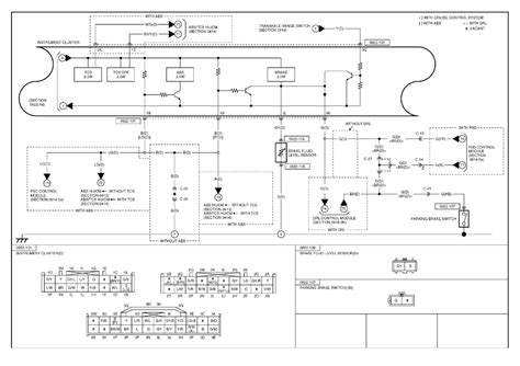 jeep tj instrument cluster wiring diagram jeep auto