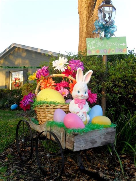 Best Photos Of Easter Yard Easter Yard Decoration Woodworking Projects Plans
