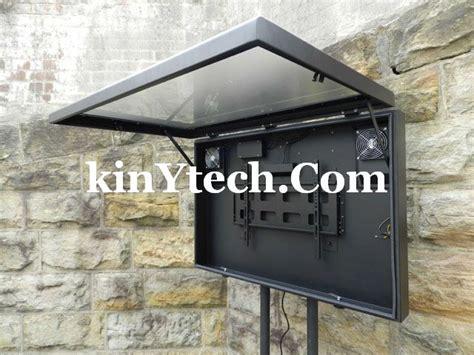 outdoor tv cabinet enclosure outdoor tv enclosure