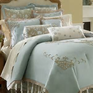 lenox bedding lenox rutledge embroidered king 4 piece comforter bed in a