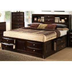 Pine Platform Bed Queen - lyke home oxi storage bed 17317325 overstock com shopping great deals on beds