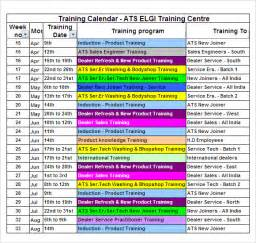 triathlon calendar template calendar template 11 free for pdf
