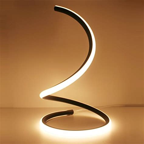home design lighting desk l skyeyarc spiral led table l curved led desk l