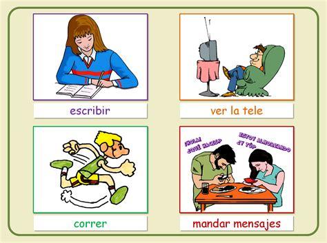 imagenes ingles verbos im 225 genes de verbos imagui