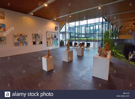 nordic house interiors interior nordic house concert hall torshavn streymoy faroe stock photo royalty