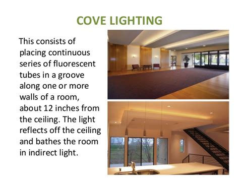 Coved Ceiling Definition by Lighting