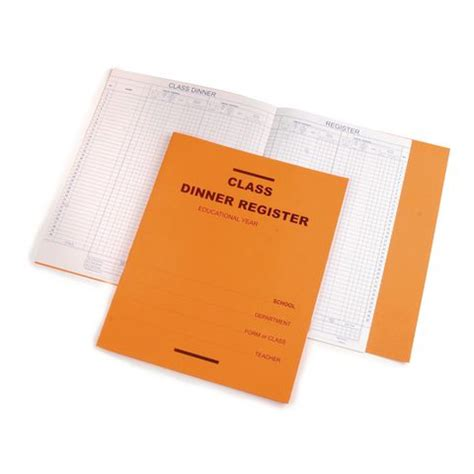 How To Make A Paper Register - education learning exercise books pads paper