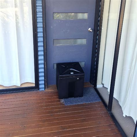 door to door parcel delivery australia doorbox parcel delivery box easy to use secure home