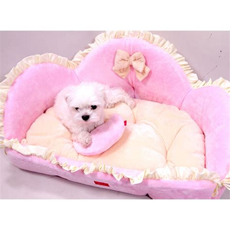 Puppy Pet Bed House L Pink sofa ebay upcomingcarshq
