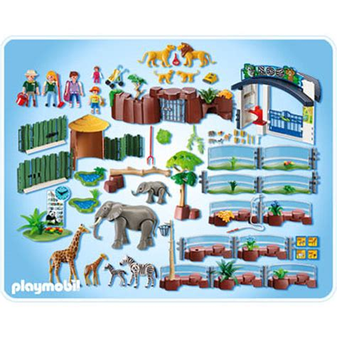Playmobil Large Zoo With Entrance home page smart toys