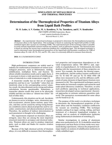 Properties Of Vacuum Definition Method Of Thermal Physics Properties Of