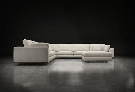 Sectional Sofa With Large Ottoman by Perry 2 Arm Large Corner Sofa W Ottoman Bimma Loft
