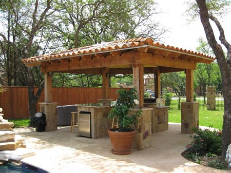 gazebo outdoor outdoor kitchen gazebo 20 combinations of indoor and