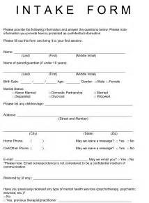 Intake Form Template Free by Client Intake Form Template Bestsellerbookdb