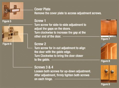how to adjust door hinges how to adjust a kitchen door hinge www