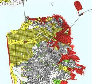 Usgs San Francisco Earthquake Map by Living In A Liquefaction Zone Bay Area S Riskiest