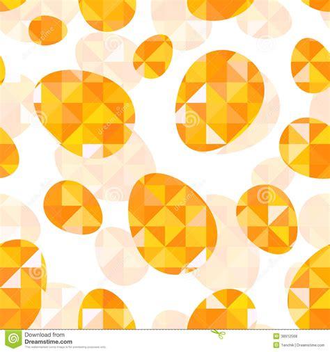 orange pattern vector orange diamond eggs vector seamless pattern stock vector