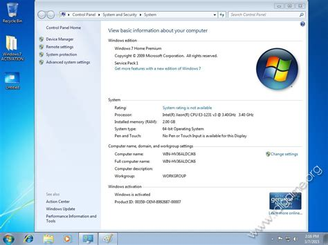 windows 7 64 bit home premium x64