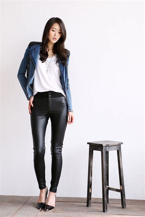 Leging Rayon Korea cotton leather