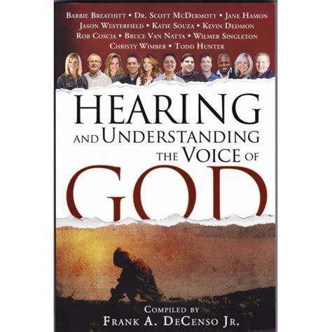 hearing the voice of the customer books hearing and understanding the voice of god myonar