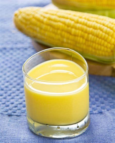 resep jus sayuran membuat jus jagung manis  segar