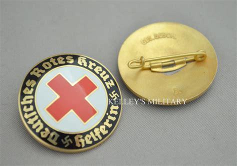 deutsches rotes kreuz helferin pin helpers pin kelleys military
