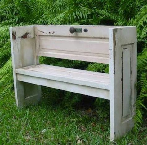 door benches old door into a bench repurposed doors pinterest