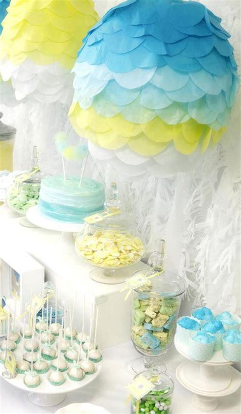 Air Balloon Themed Baby Shower by Air Balloon Baby Shower Theme Baby Shower Ideas