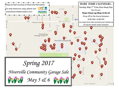 Garage Sales Map Garage Sale Map Available