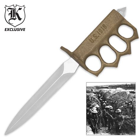 world war 1 trench knife for sale 1918 wwi trench knife replica budk knives swords