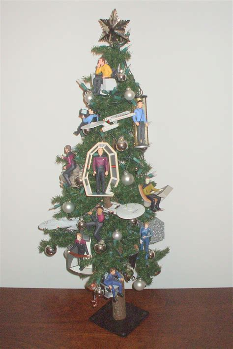 star trek christmas tree the enchanted manor