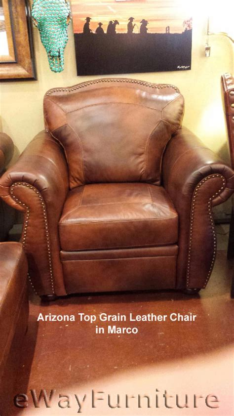 leather couches arizona arizona top grain leather chair in marco