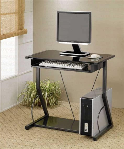 Small Desk For Computer Compact Computer Desk For Great Space Saver My Office Ideas