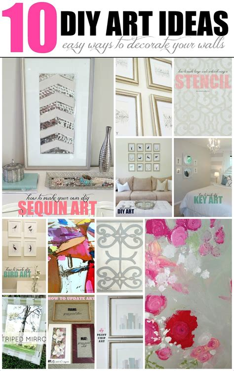 diy decorate your bedroom livelovediy 10 diy art ideas easy ways to decorate your